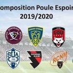 Composition de la Poule Espoirs pour la Saison 2019-2020