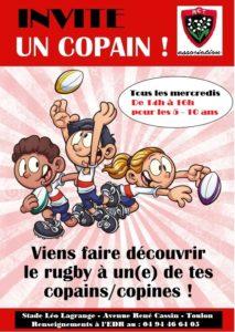 L'École de Rugby du Rugby Club Toulonnais Association prépare activement la saison 2020-2021
