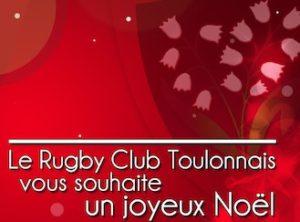 Le Rugby Club Toulonnais vous souhaite un joyeux Noël