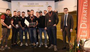 Soirée des Champions au Conseil Départemental du Var