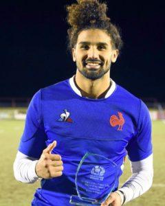 Erwan DRIDI élu homme du match de la rencontre M 20 Ecosse – France